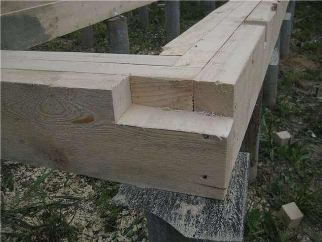 Как построить деревянный дом своими руками видео